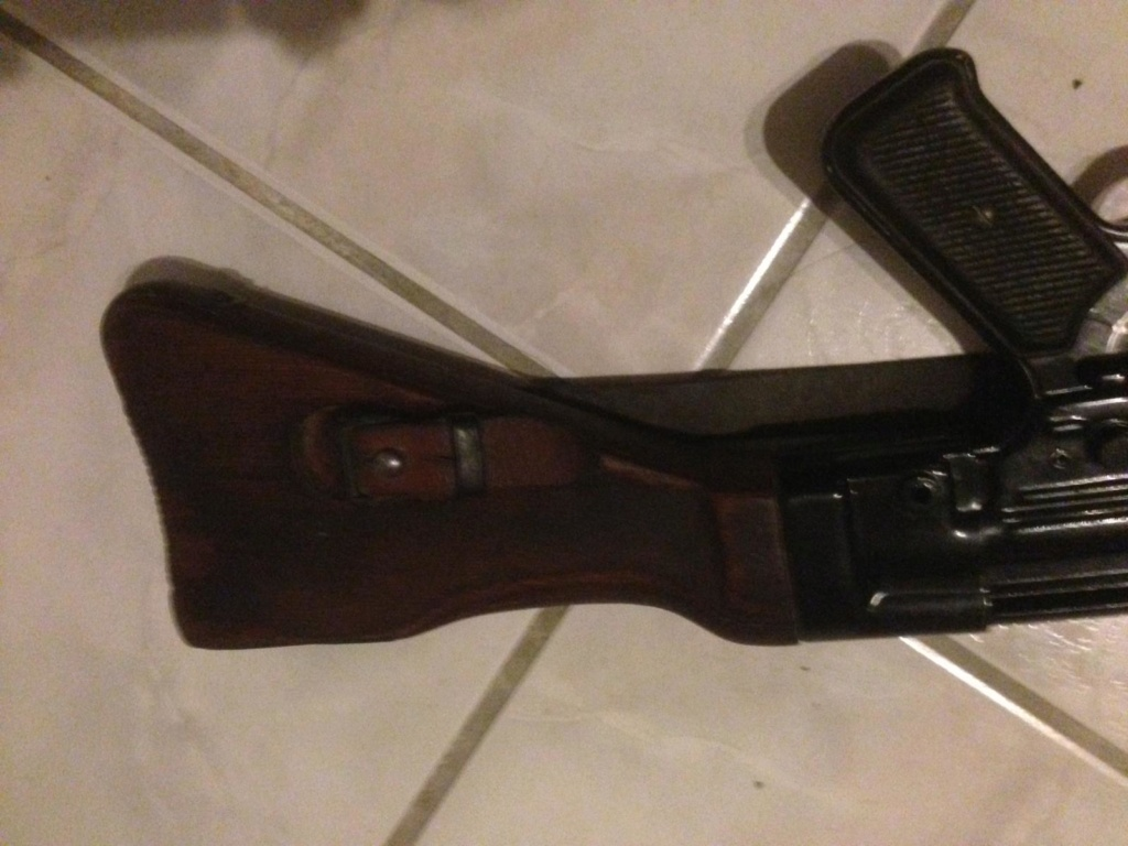 MP 43 peint en noir.. Img-2023