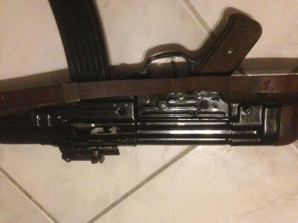 MP 43 peint en noir.. Img-2024
