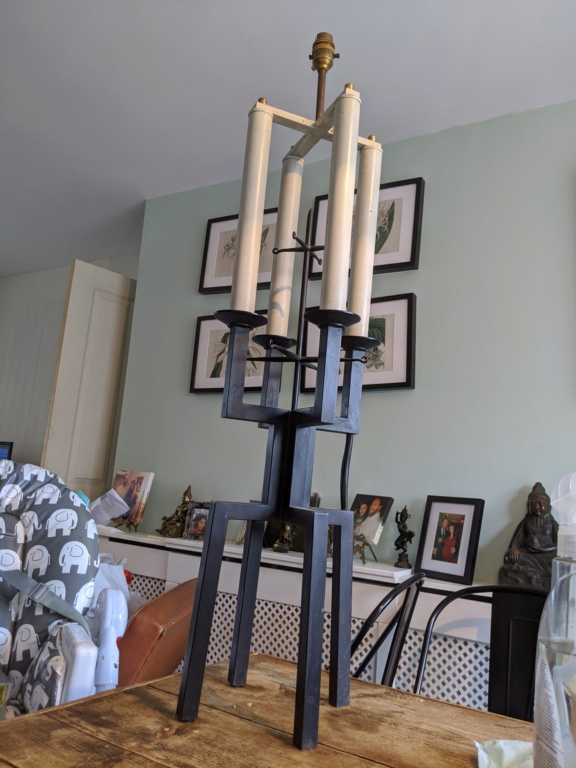 Geometric Candelabra lamp, Italian ? ID please? Img_2011