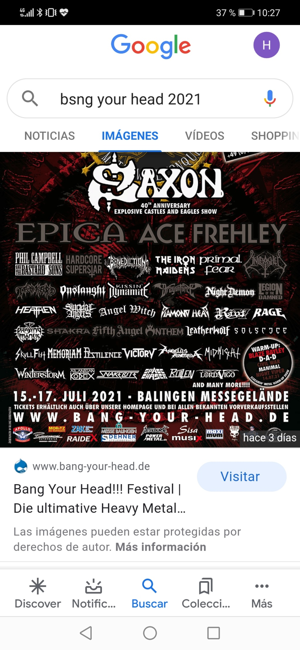 RESURRECTION FEST 2020 (1-4 / 7 /20) - Página 2 Screen14