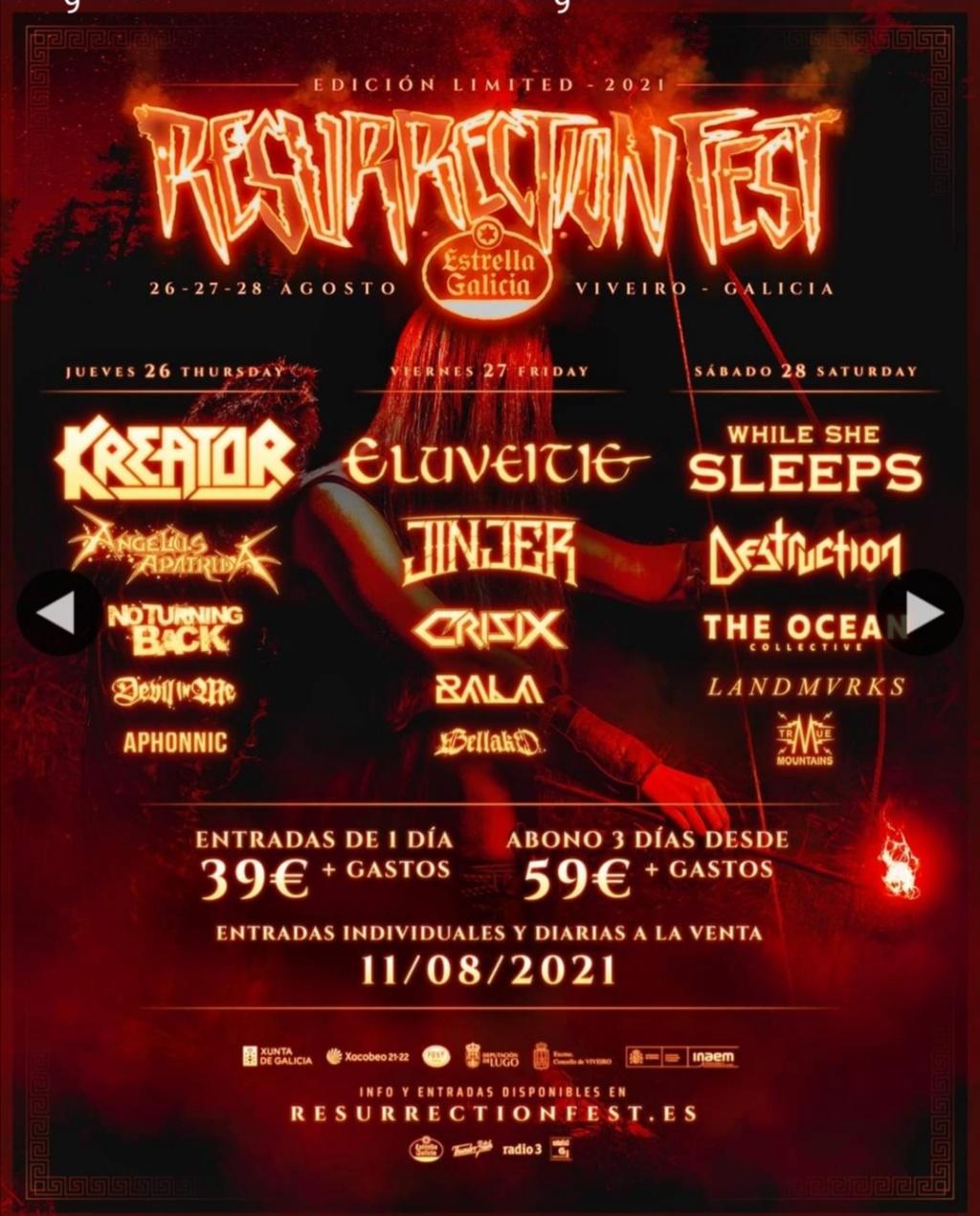 Resurrection Fest Estrella Galicia 2022. (29 - 3 Julio) Avenged Sevenfold, KoRn, Deftones, Sabaton y Bourbon! - Página 12 Screen18