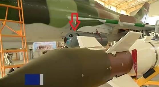 ايران تزيح الستار عن 10 طائرات SU-22 تمت اعادة تأهيلها  23023010