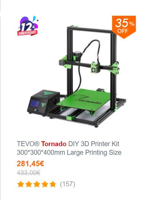 Ma nouvelle imprimante pour imprimer en grand: la tevo tornado Captur10