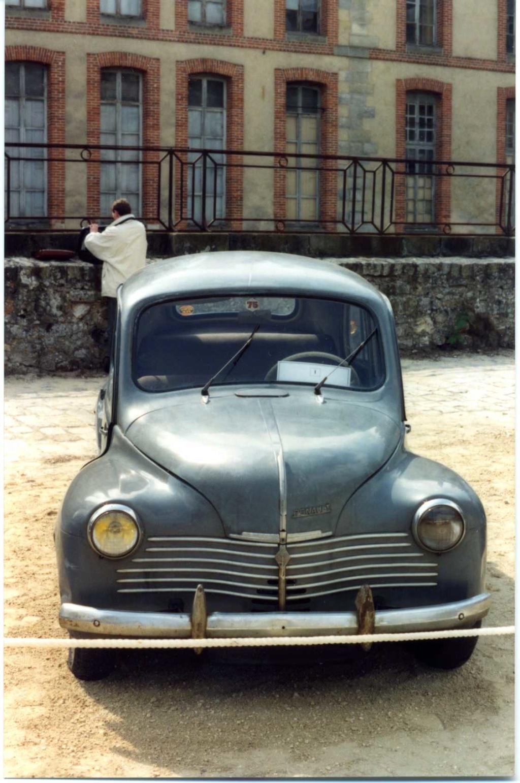 Restauration de la 4CV 1950 110