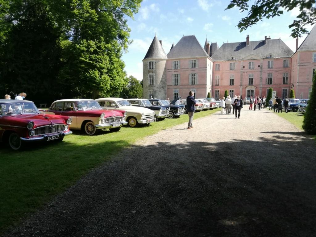 Les Chambords à Chambord. Hommage à la Simca Rallye EmiSul.  14efae10