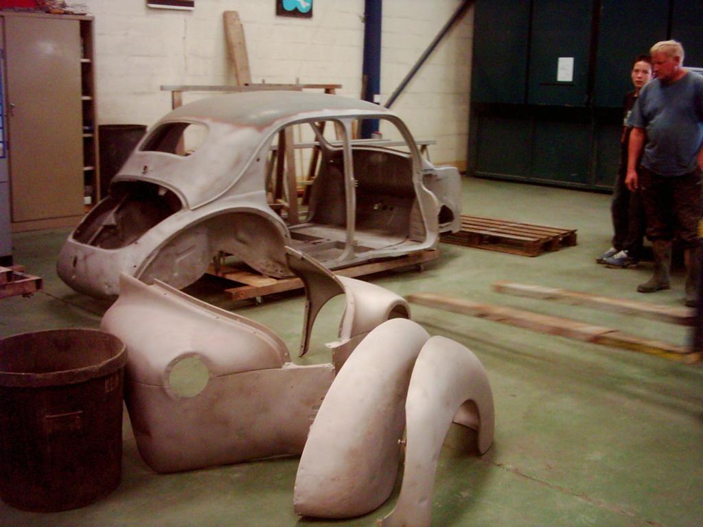Restauration de la 4CV 1950 210