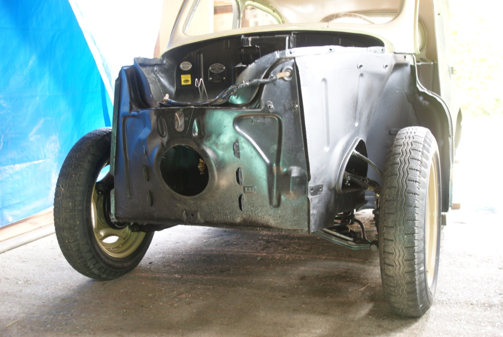 Restauration de la 4CV 1950 3210