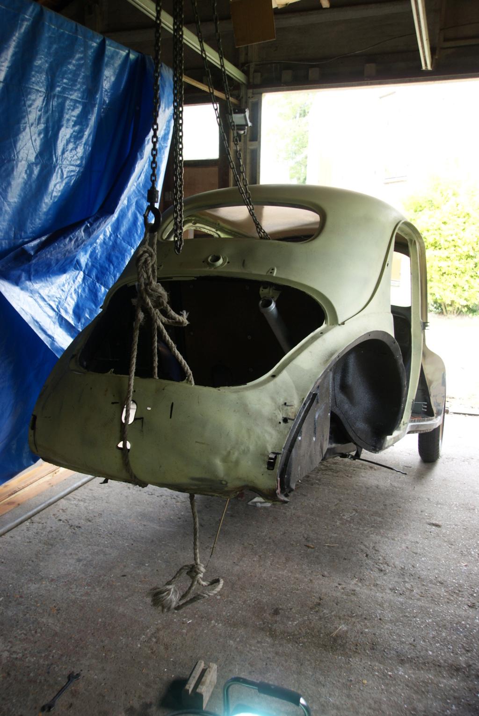 Restauration de la 4CV 1950 3410