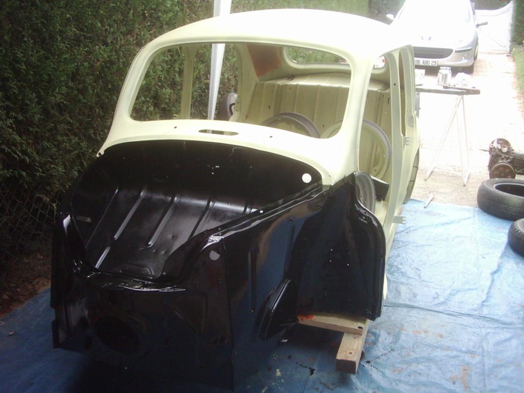 Restauration de la 4CV 1950 810