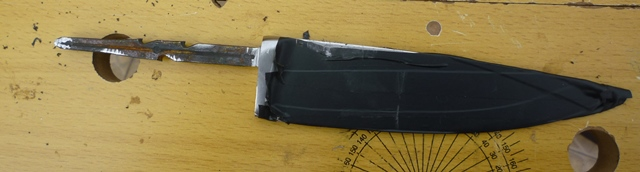 Cuchillo de puntilla de Ikea. P1120612
