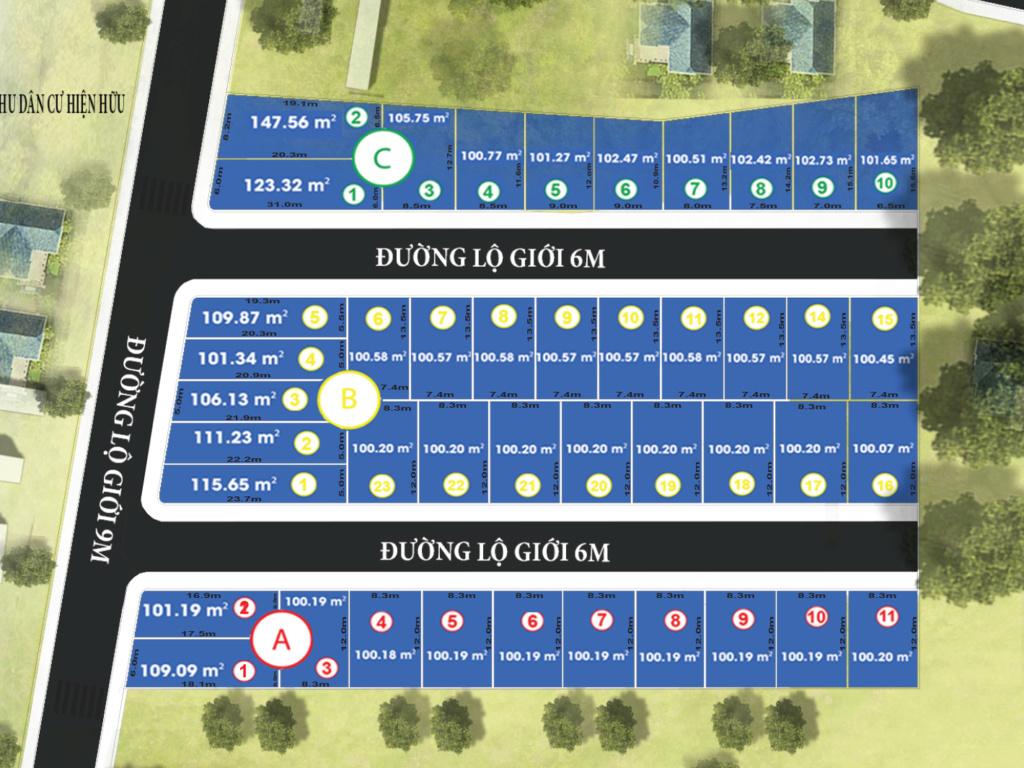 Cần bán gấp 20 lô đất nền thổ cư 100%, SHR, ck 10%,giá chỉ từ 10tr/m2 Phan_l10