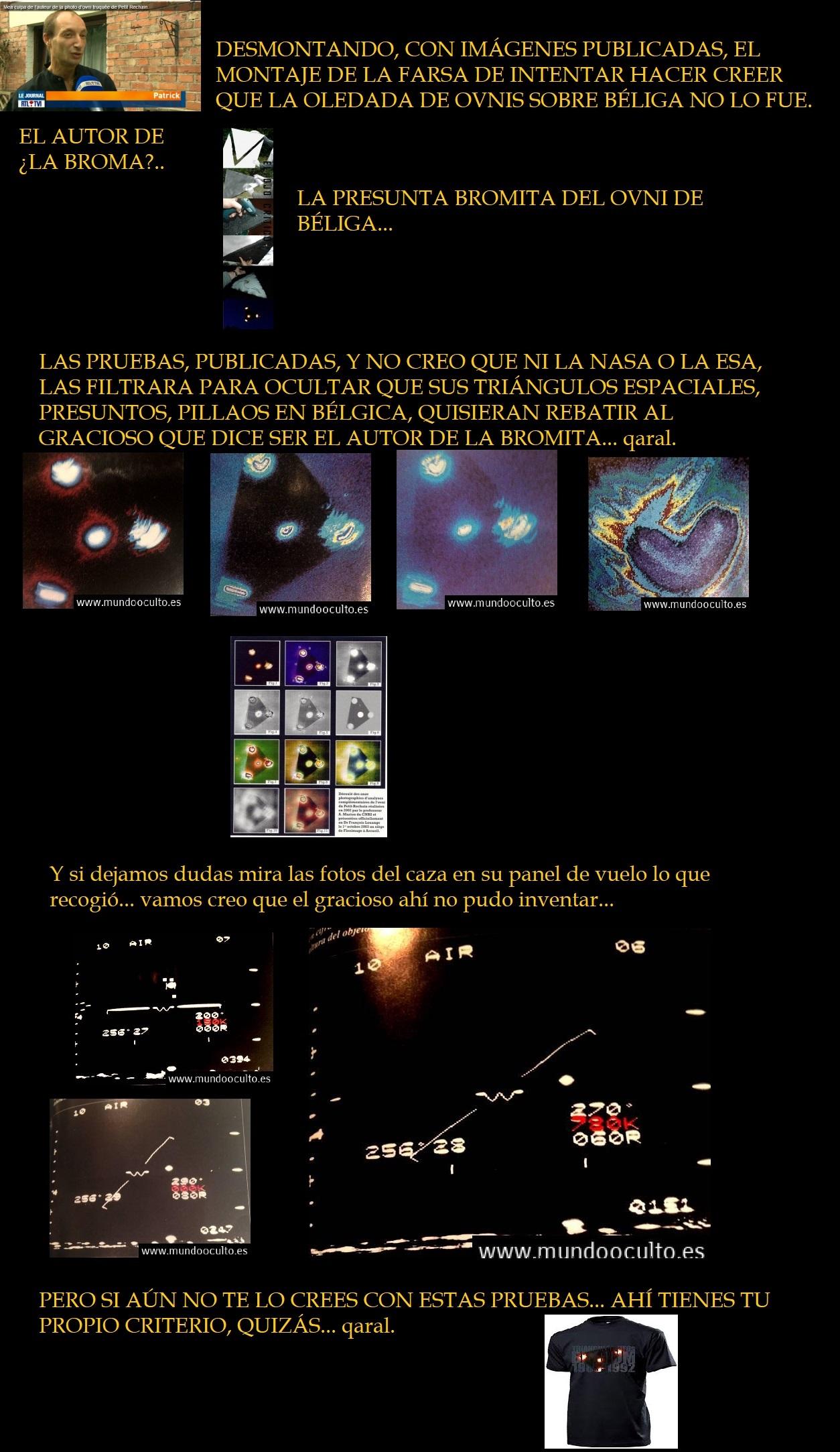 EL CASO MÍTICO DE LA OLEADA OVNI SOBRE BÉLGICA Y EL GRACIOSO... Autor-10
