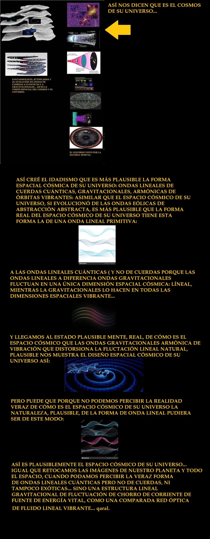 ¿REALMENTE EL ESPACIO CÓSMICO DE SU UNIVERSO ES ASÍ? COMO LO RECREA LA CIENCIA, INCLUSO ONDAS DE CUERDAS CUÁNTICAS GRAVITACIONALES ¿? Imagen12