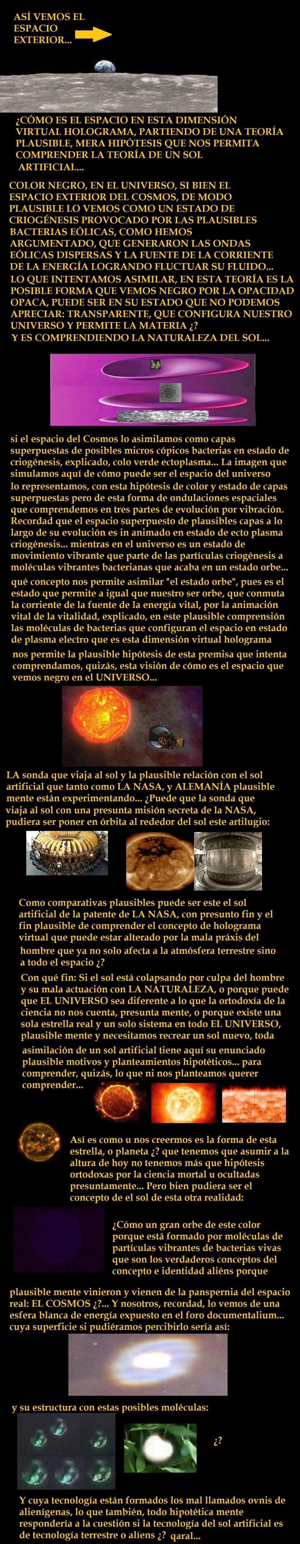 ¿LOS DOS SOLES QUE APARENTE MENTE APARECEN EN FOTOS PLAUSIBLES REALES PUEDE SER UNO ARTIFICIAL Y CREADO POR LA NASA? Images28
