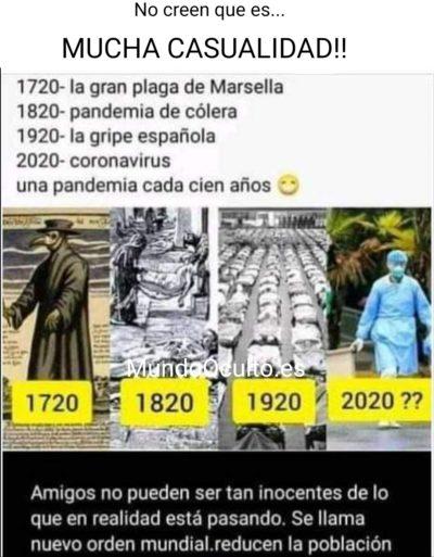 LA CONSPIRACIÓN DEL CORONAVIRUS A LO LARGO DE LA HISTORIA ¿? Screen17