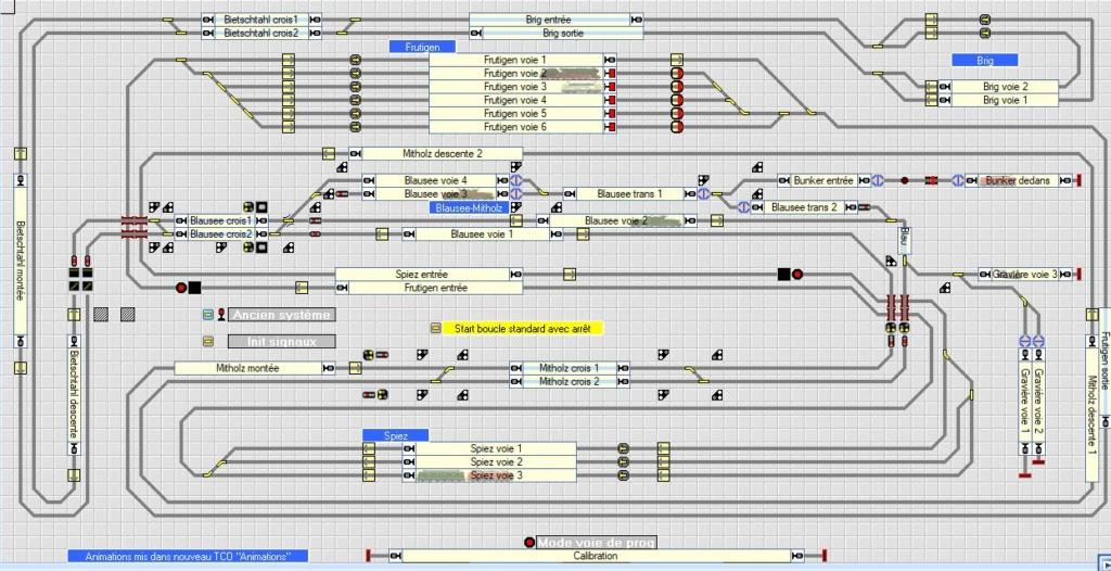 Le PC rame lorsque plusieurs trains ont un trajet boucle Tco10