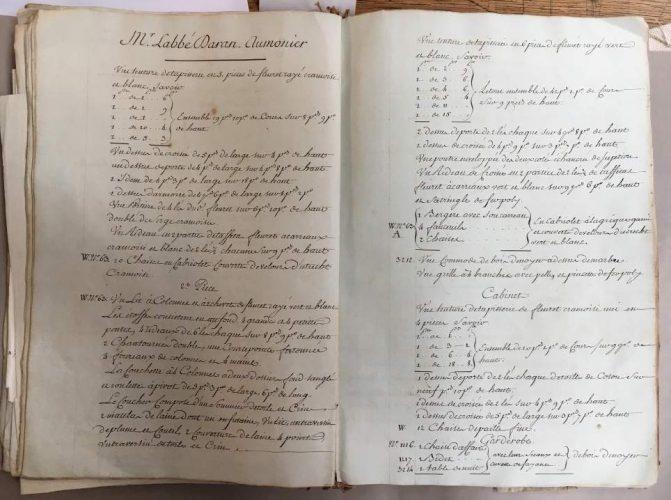 Du mobilier de Versailles vendu aux enchères Archiv10