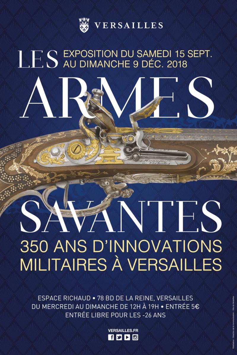 Les armes savantes - 350 ans d'innovations militaires à Versailles Les-ar10
