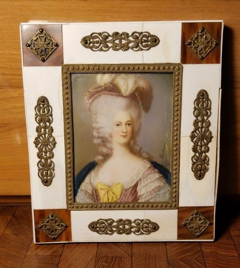 Portrait de la Reine Marie-Antoinette par Joseph Boze - Page 4 S-l16010
