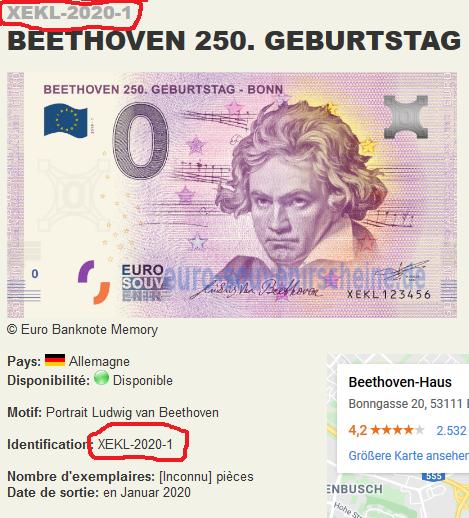 [Collecte Expediée] Allemagne - XEKL 2019-1 BEETHOVEN 250. GEBURSTAG - BONN Beetho10