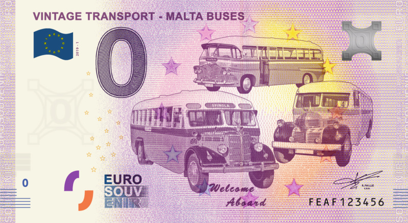 [Collecte expédiée] FEAF - Vintage Transport - Malta Buses - 2019-1 Fra_fe10