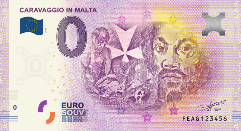 [Collecte expédiée] MT - FEAG - Caravaggio in Malta - 2019 Fra_fe11