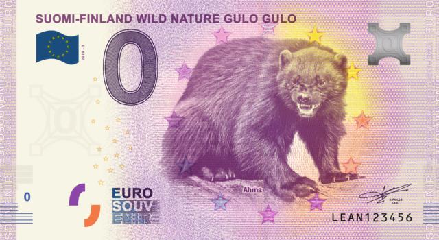 [Collecte double expédiée] FI : Suomi-Finland Wild Nature :  Alces Alces & Gulo Gulo - 2019   Fra_le22