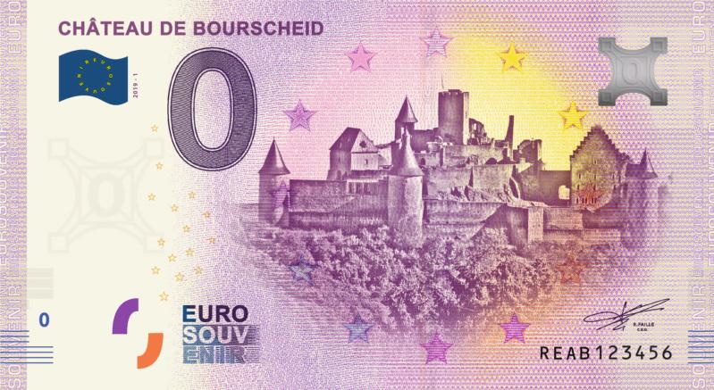 [Collecte expédiée] Lux - REAB -  Château de Bourscheid - 2019-1 Fra_re11