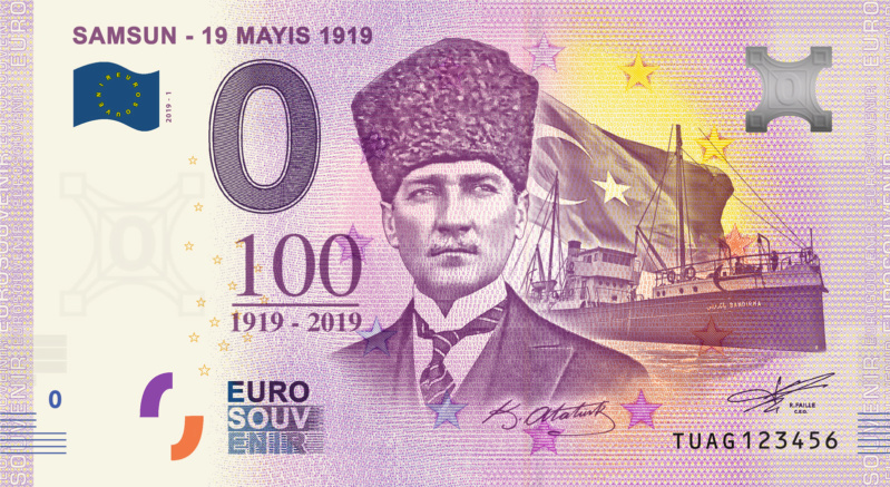 [Collecte expédiée] Turquie -TUAG - Samsun - 19 mayis 1919 - 2019 Fra_tu10