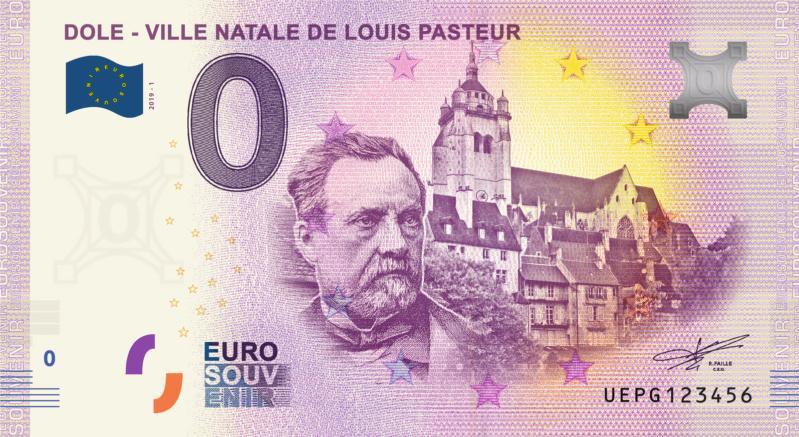 [Collecte expédiée] UEPG - 39 - Dole - Ville natale de Louis Pasteur - 2019  - - Page 2 Fra_ue48