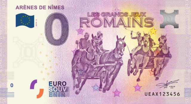 [Collecte Expédiée] UEAX - (30) Les Arènes de Nîmes les Grands Jeux Romains - 2019-1, ou le Millésime - 2019 - Page 2 Fra_ue50
