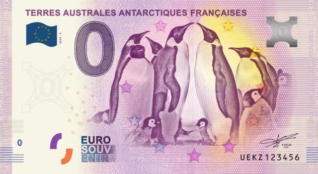 [Collecte expédiée ] Paire de 2 billets terres australes - Page 2 Fra_ue66