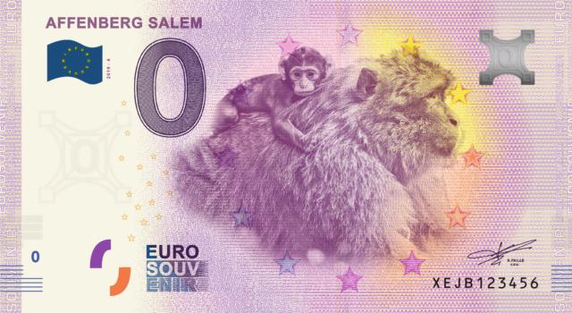 [Collecte Expédiée] ALLEMAGNE - Affemberg Salem, Singes et Cigognes - 2019-4 et 2019-5 Fra_x101
