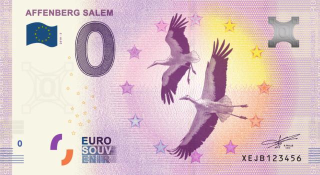 [Collecte Expédiée] ALLEMAGNE - Affemberg Salem, Singes et Cigognes - 2019-4 et 2019-5 Fra_x102