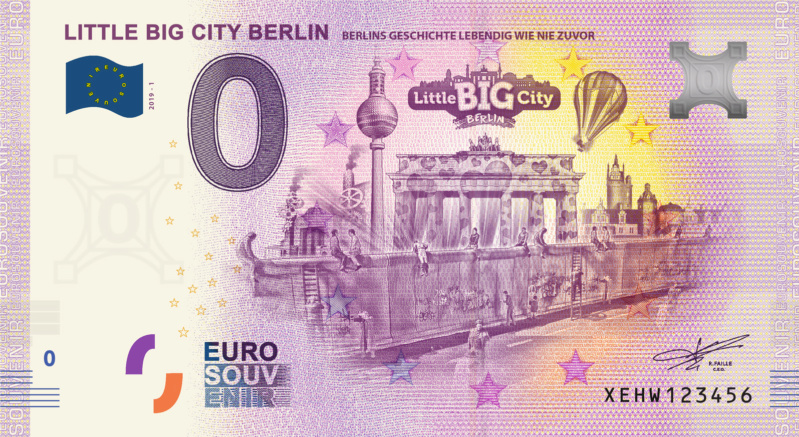 [Collecte Clôturée] Billet Allemagne : XEHW LITTLE BIG CITY BERLIN Fra_x103