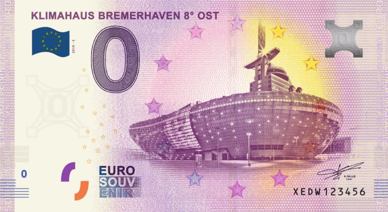 [Collecte Expédiée] Allemagne - Klimahaus Bremerhaven 8° Ost - 2019 Fra_x107