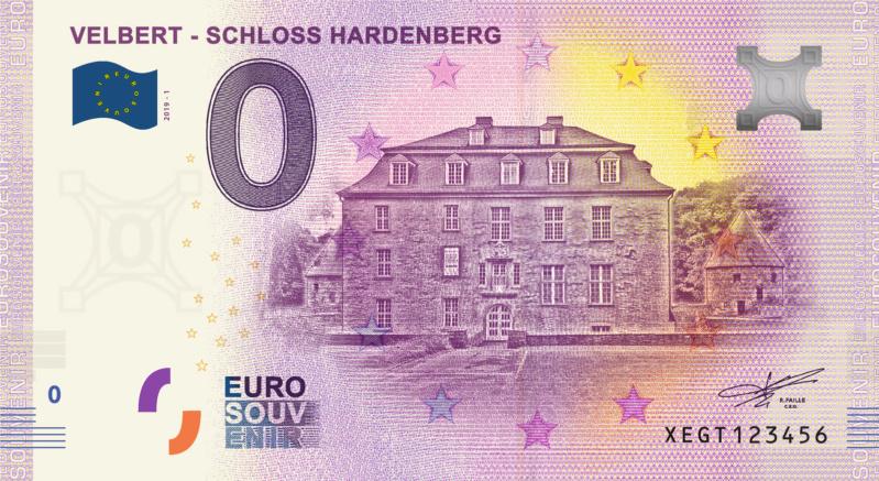 [Collecte Clôturée] Billet ALLEMAGNE - Velbert - Schloss Hardenberg - 2019-1 Fra_x111