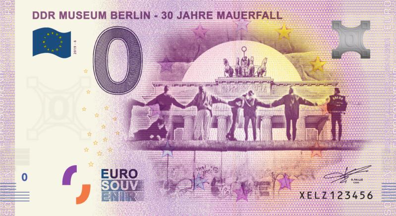 [Expédiée ] XELZ 2019-5 DDR MUSEUM BERLIN - 30 JAHRE MAUERFALL Fra_xe85