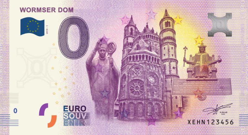 [Collecte expédiée] DE - Wormser Dom - 2019 Fra_xe86