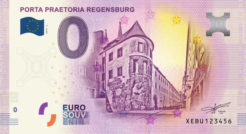 [Collecte Expédié] ALLEMAGNE - REGENSBURG - Porta Praetoria - 2019-2 Fra_xe87