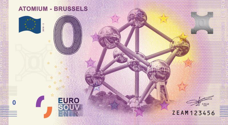 [Millésime 2019 expédiée] Atomium Brussels - 2019 Fra_ze33