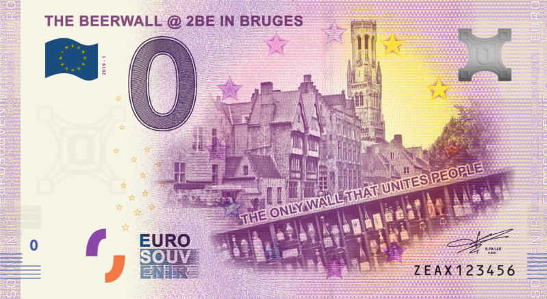 [Collecte expédiée] BE - ZEAX - The Beerwall @ 2BE in Bruges - 2019 Fra_ze35