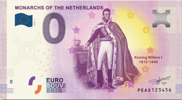 [Collecte expédiée] NL - PEAS - Monarchs of the Netherlands - 2020-1 & 3 Peas310