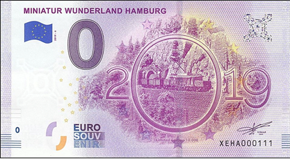 [Collecte ENVOI PARTIEL   ] HAMBOURG Miniatur Wunderland 2019-6 Xeha610