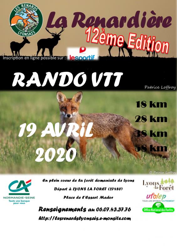 (19/04/2020) La Renardière/ 27 - Lyons-la-foret  (ANNULE) Affich11