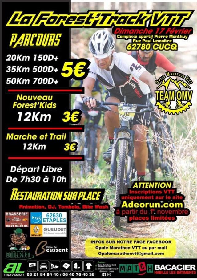 [17/02/19]  La Forest'Track VTT   à Cucq (62) Forest10