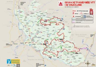 GRANDE TRAVERSÉE DE VAUCLUSE À VTT 400km 10.000D+ Grande11