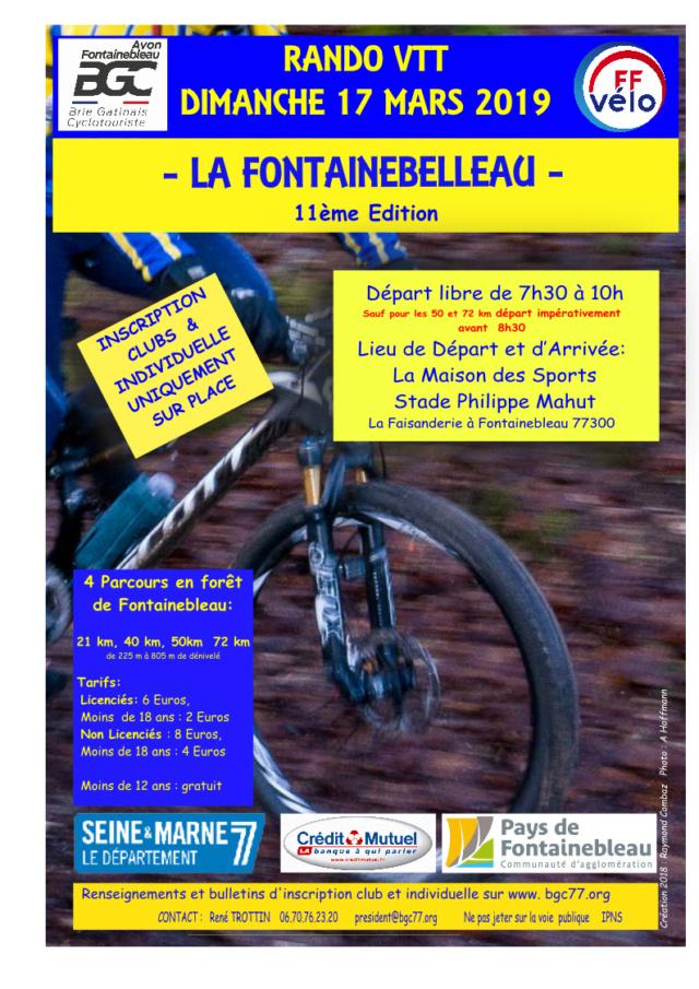 (17/03/2019)LA FONTAINEBELLEAU 2019 – 11ème Edition La-fon10