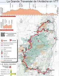 dimanche 23 au 31 aout 2020  Grande Traversée de l'Ardèche VTT Tzolzo15