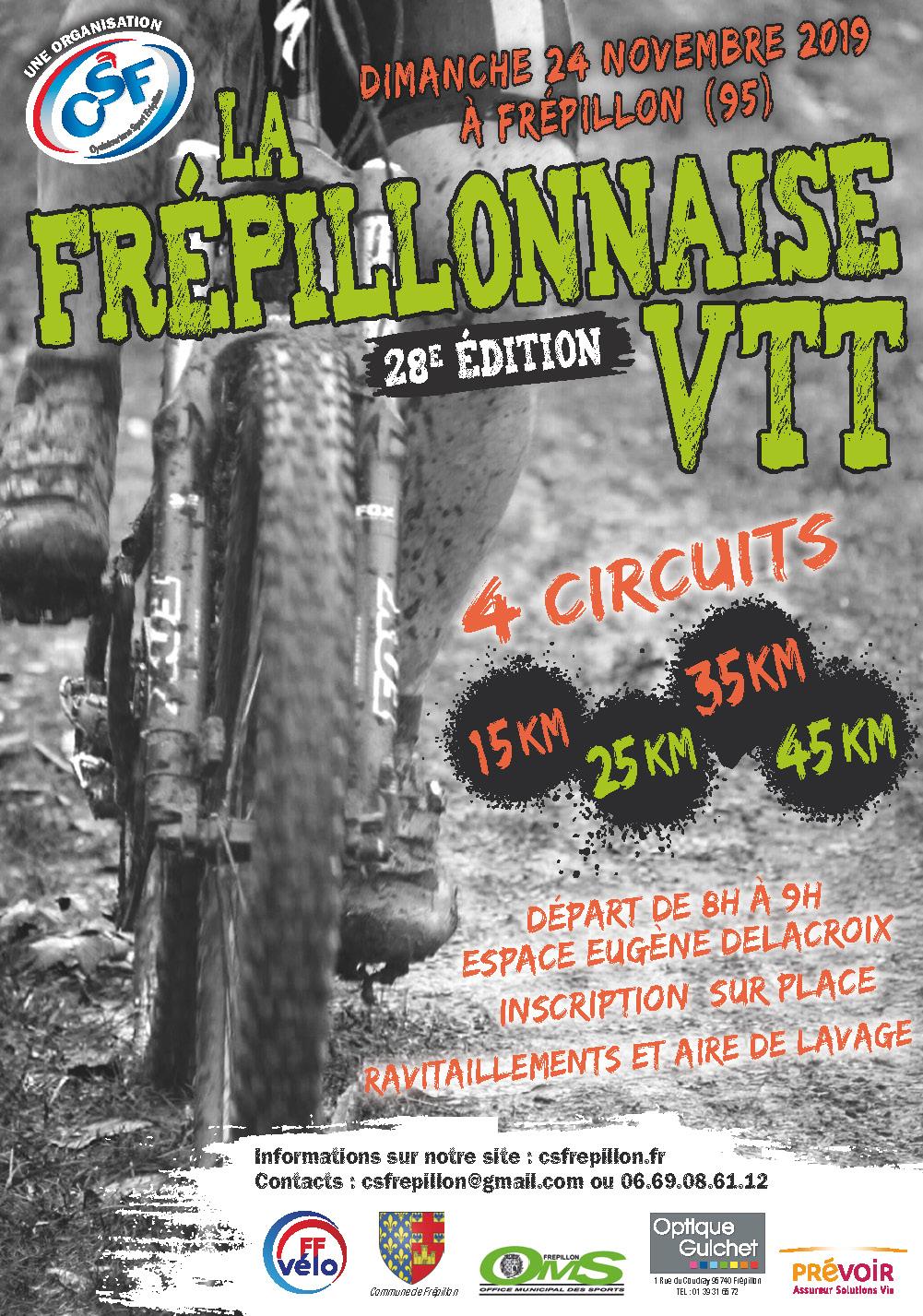 ( 24/11/2019 ) pour la 28e édition La Frépillonnaise VTT X8422_10